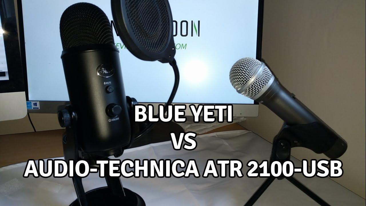 blue yeti vs audio technica atr2100 usb samson q2u youtube. Black Bedroom Furniture Sets. Home Design Ideas