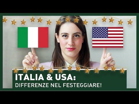 ITALIA E USA: LE DIFFERENZE NEL FESTEGGIARE!