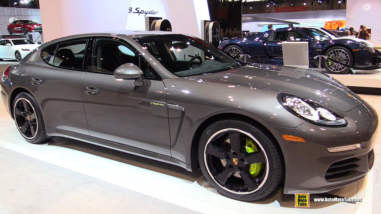 2015 porsche panamera s e hybrid exterior and interior walkaround 2015 chicago auto show