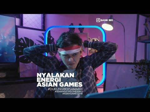 Dukung Asian Games 2018 Bersama BRI. Ayo #DukungBersamaBRI!