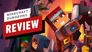 Minecraft Dungeons Review (Video Game Video Review)