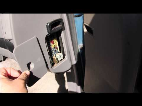 Fuse Box location in a 1994 Jeep Grand Cherokee Laredo - YouTube Jeep Grand Cherokee Fuse Box Location on