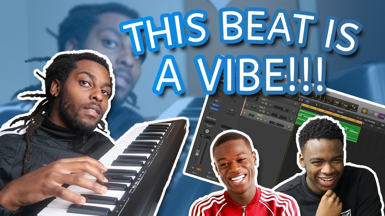 Making an AFROBEAT / AFROSWING Beat in Logic Pro X - THIS IS A VIBE! (J hus  X Not3s Type Beat)
