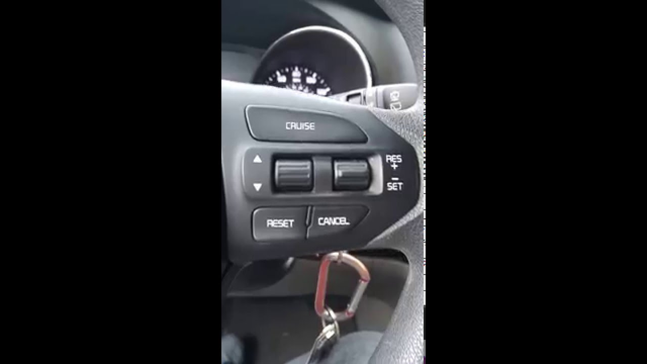 KIA Sedona 2016 LX thermometer change from celsius to ...