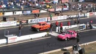 7 second 57 chevy vs mustang