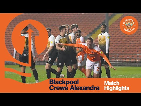 Blackpool Crewe Goals And Highlights