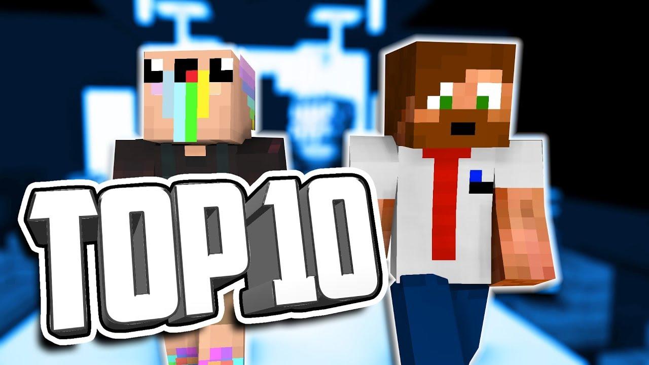 10 COOLA MINECRAFT-SKINS! - YouTube