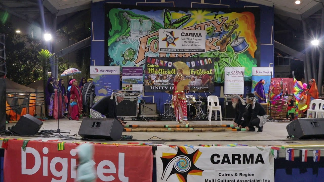 Manobo, Singkil & Shine Phils Shine dance by the PCSC, CARMA Event 2019 @  Fogarty Park, Cairns  Qld
