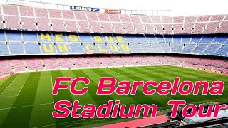 Fc barcelona - stadium tour | camp nou ...