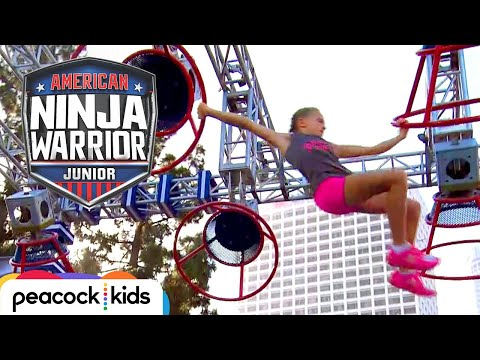 AMERICAN NINJA WARRIOR JUNIOR | Epic Girl Power Racing!