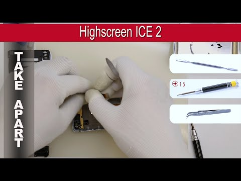 How to disassemble 📱 Highscreen ICE 2 Take apart Tutorial