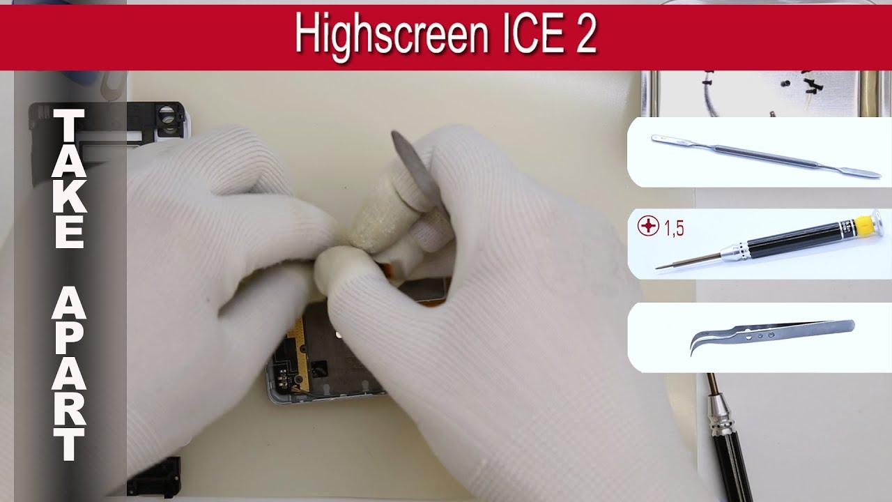 Highscreen Ice 2 смартфон с двумя дисплеями, MTK 6592, OGS .