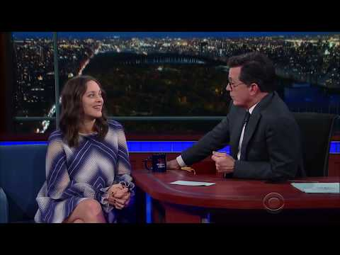 French People Too Cynical (But Smart) For Halloween - Cultural Ambassador Marion Cotillard (2016)