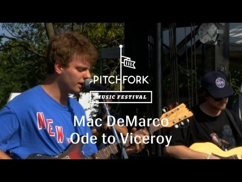 "Mac DeMarco - ""Ode to Viceroy"" - Pitchfork Music Festival 2013"