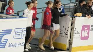 Trusova Cup of Russia 2020 stage 4 FS warmup Трусова КР2020 этап 4 ПП разминка 8 11 2020