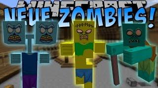 NEUE ZOMBIES!! (Opa Zombie, Girl Zombie und viele mehr!) [Deutsch]