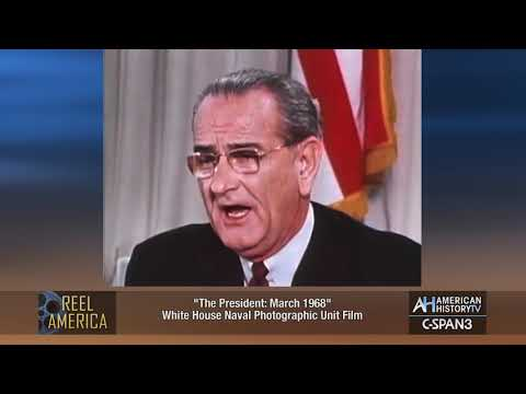 March 31, 1968 - LBJ Announces He Won't Run for President