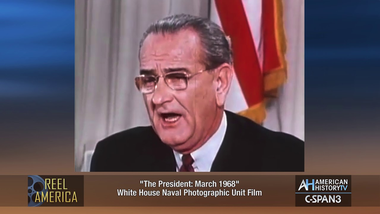 Download March 31, 1968 - LBJ Announces He Won't Run for President