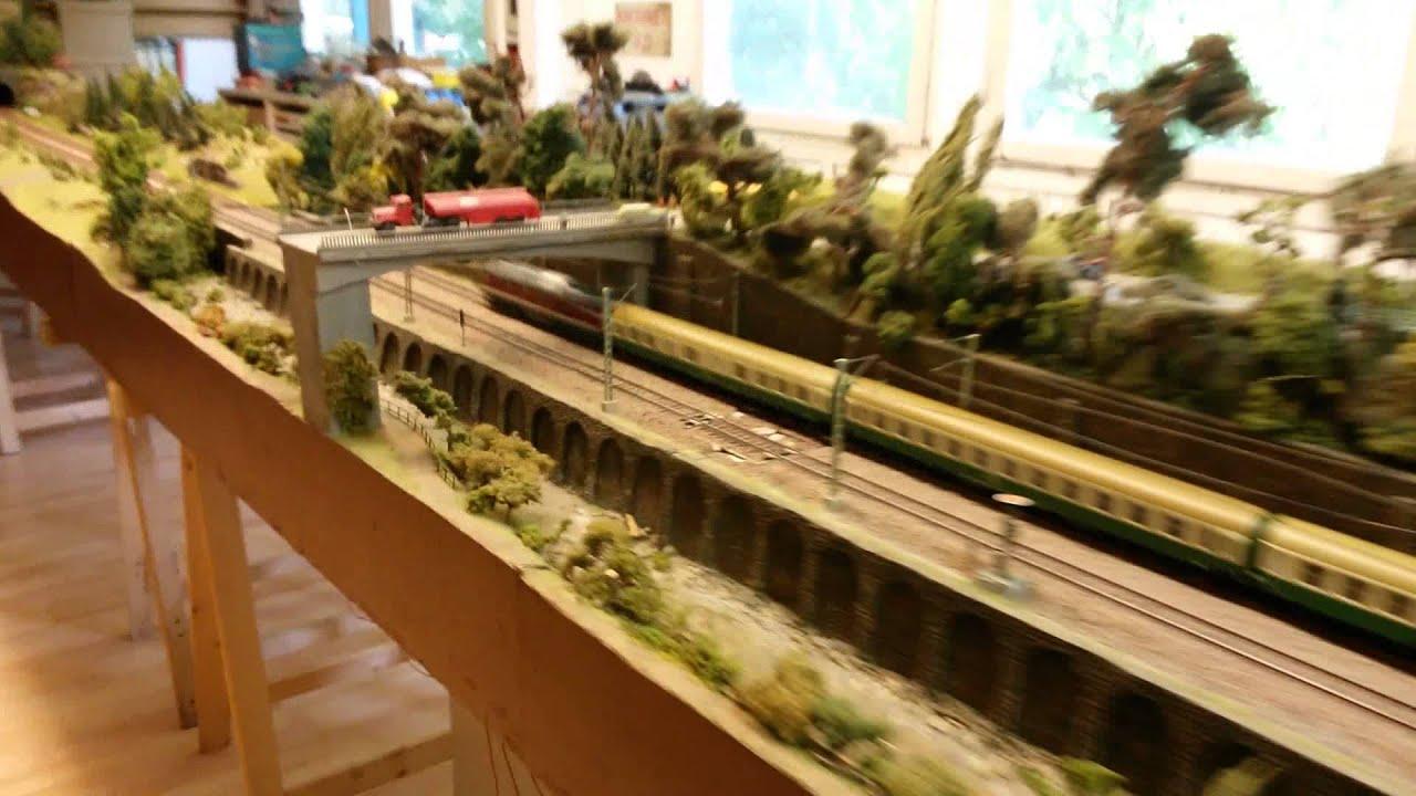 Eisenbahn im modell railroad as model br dr roco