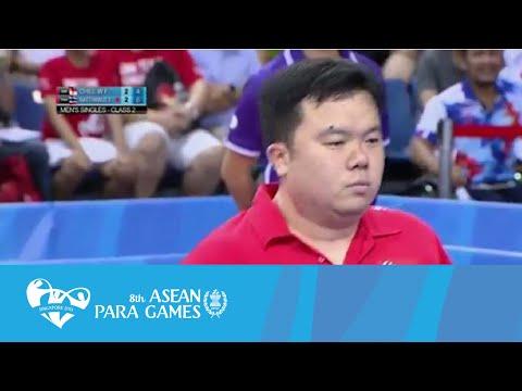 Table Tennis:Men's Singles (Class 2)  Finals (Day 5) | 8th ASEAN Para Games 2015
