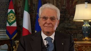 Video messaggio del Presidente Mattarella per la Pasqua