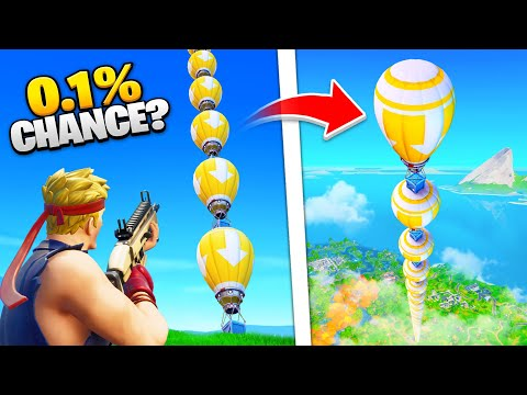 30 LUCKIEST Fortnite Moments OF ALL TIME!