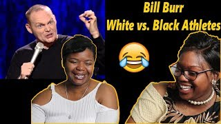 😂 Mom reacts to Bill Burr - White vs Black Athletes and Hitler | Reaction
