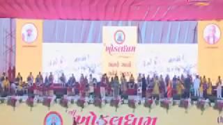 Khodal Dham Kagvad - Naresh Patel Entry with Alpa Patel song Patel vat se tamaro