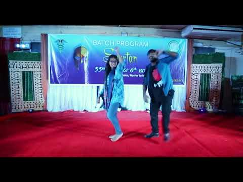 45.Ringku & Shejuti- Vaiya re & Akashe te lokkho tara | Batch Program | 55th MBBS & 6th BDS | SOMC