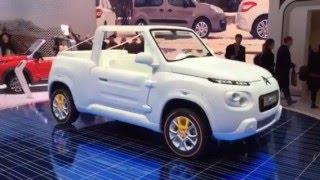 Citroen E-Mehari Styled By Courreges - Geneva Motor Show Video Blog