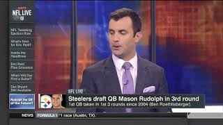 Ben Roethlisberger opened up this can if worms, Steelers draft Mason Rudolph