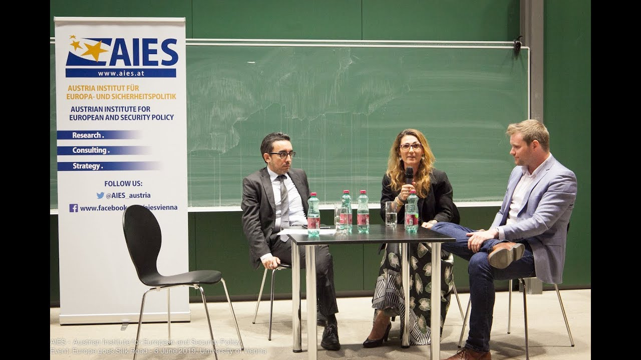 "My participation in Panel Discussion ""Silk Road. History and Future of Eurasia?"" with Bruno Maçães"