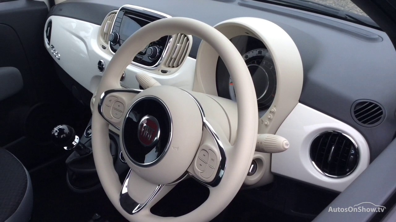 Fiat 500 Pop Star White 2017