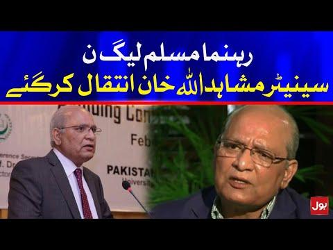 Mushahid ullah Khan PMLN Senator Passed Away