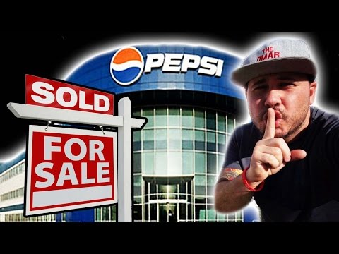 Putting Pepsi UP For Sale