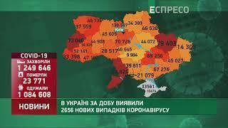 Коронавірус в Украі ні статистика за 9 лютого