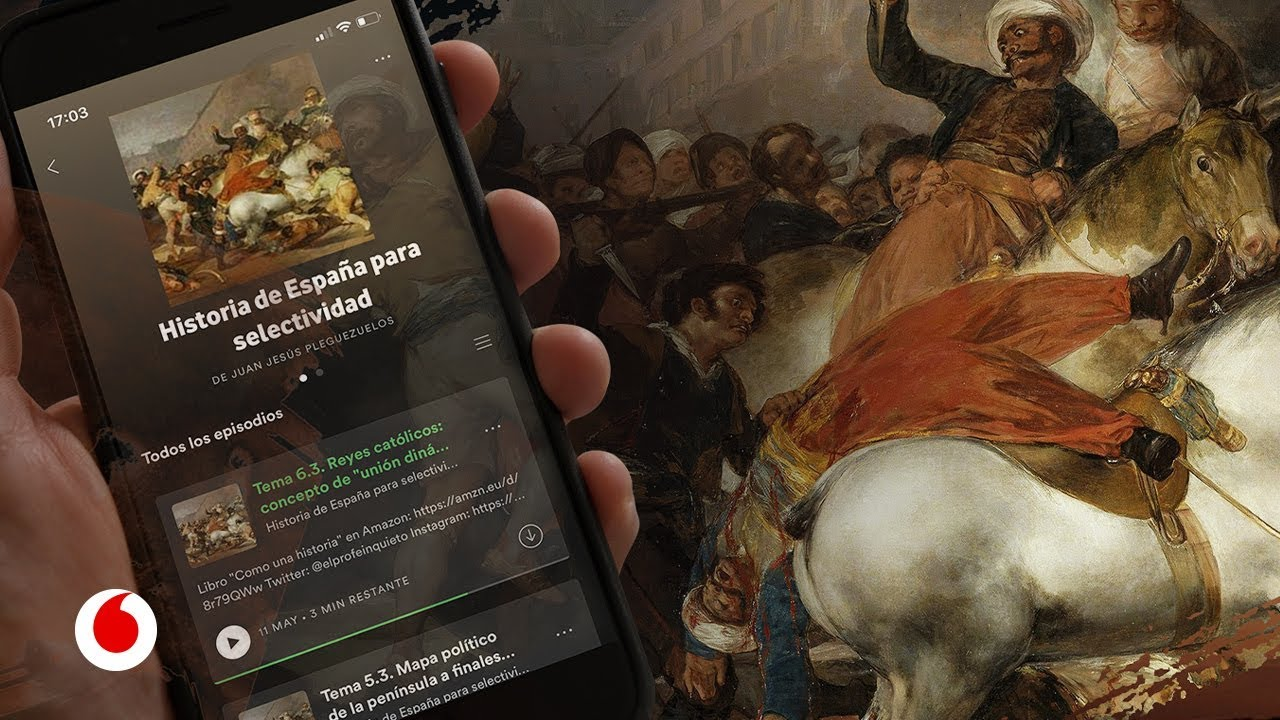 Escuchar Spotify para aprobar el examen de Historia en selectividad