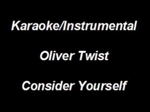 Karaoke Instrumental - Oliver Twist - Consider Yourself