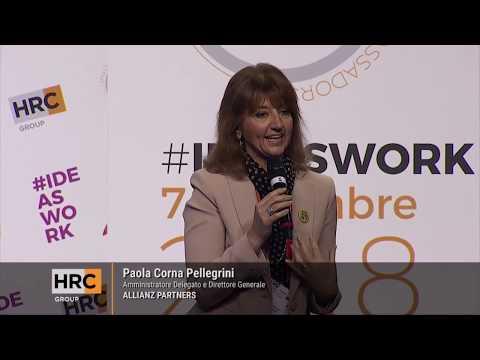 MAF #IdeasWork 07.11.18 Paola Corna Pellegrini AD e Direttore Generale Allianz Partners
