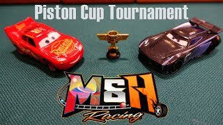 Cars 3 Piston Cup Tournament