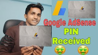 Google AdSense Address PIN verification letter from Google