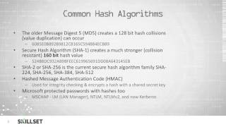 Hashing (CISSP Free by Skillset.com)