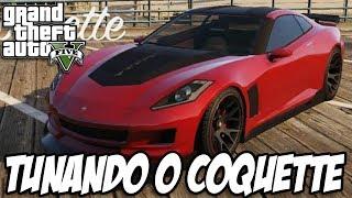 GTA V - Tunando o Coquette (CORVETTE)