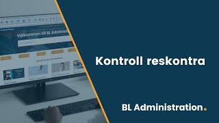 """Få koll på dina fakturor med """"Kontroll reskontra"""" i BL Fakturering"""