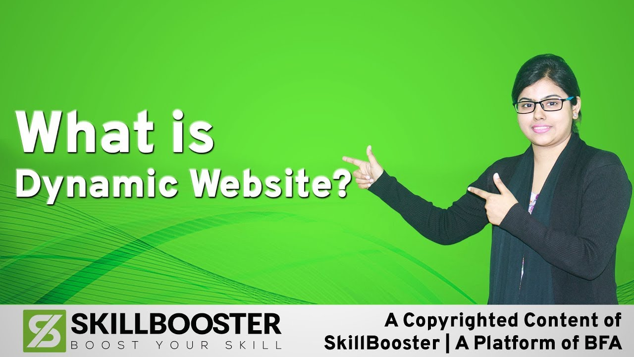 What is Dynamic Website? ডাইনামিক ওয়েবসাইট কি?