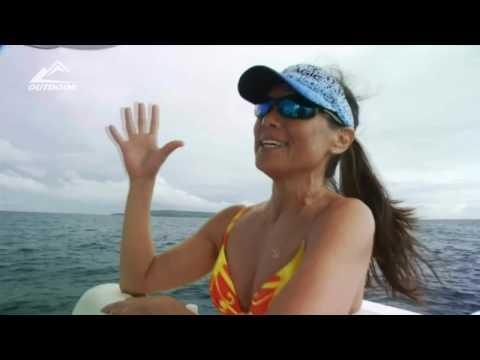SPEARFISHING PANAMA .Big Fish and Beautiful Girl