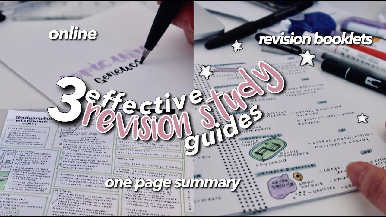 Download BACK TO SCHOOL REVISION METHODS ☆ EFFECTIVE STUDY GUIDES
