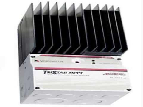 morningstar tristar ts 60 amp solar battery charge controller youtube. Black Bedroom Furniture Sets. Home Design Ideas