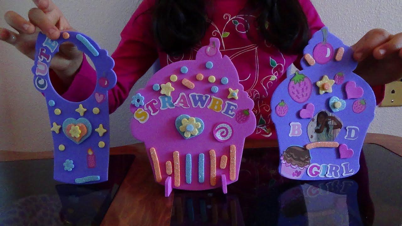Cupcake Room Decor/Easy Simple Kids Crafts B2cutecupcakes