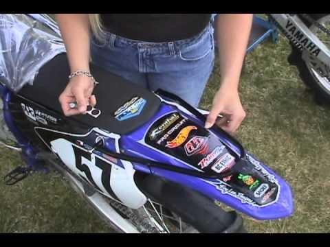 HRF dirt bike flag/whip mounts